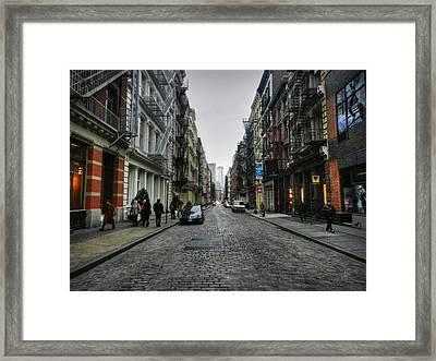 New York City - Soho 003 Framed Print by Lance Vaughn