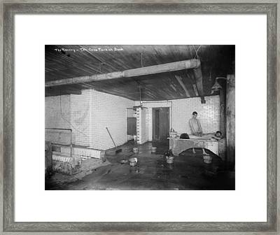 New York City, The Bowery, A Ten-cent Framed Print by Everett