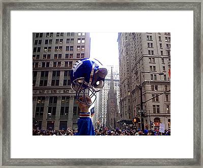 New York Giants Champs Framed Print by Artistic Photos