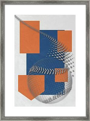 New York Mets Art Framed Print by Joe Hamilton