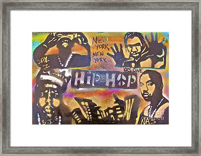 New York New York Framed Print by Tony B Conscious
