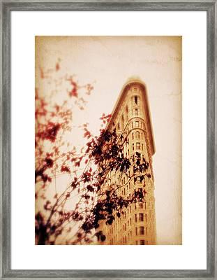 New York Nostalgia Framed Print by Jessica Jenney