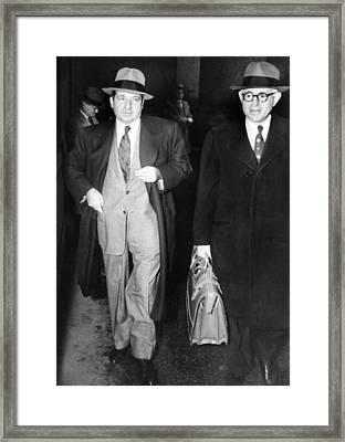 New York Organized Crime Boss, Frank Framed Print by Everett