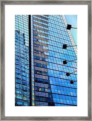 New York Framed Print by Paul Wear