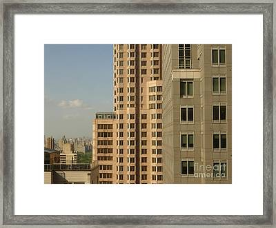 New York Proportions Framed Print by Andy  Mercer
