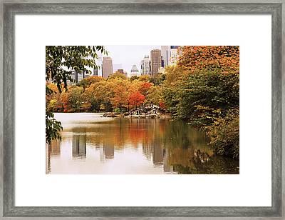 New York Reflections Framed Print by Jessica Jenney