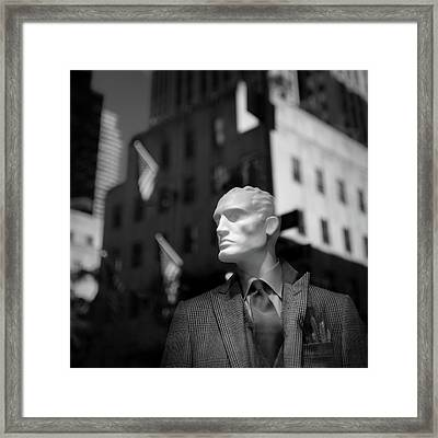 New York Style Framed Print by Dave Bowman