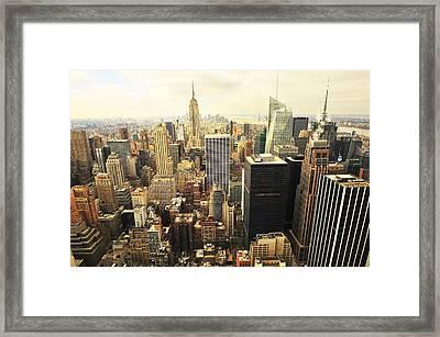 New York Framed Print by Svetlana Sewell