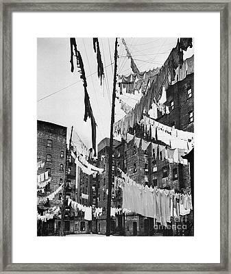 New York: Tenement, 1936 Framed Print by Granger