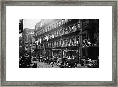 New York: Tenements, 1912 Framed Print by Granger