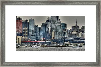 New York Waterways Framed Print by David Bearden