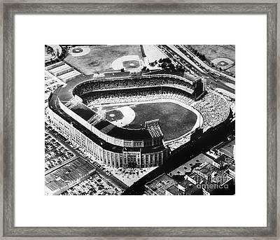 New York: Yankee Stadium Framed Print by Granger