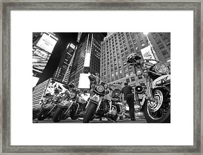 New York's Finest Framed Print by Robert Lacy