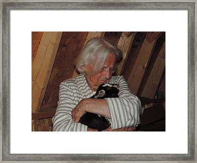 Ageless Love Framed Print by Mary Lew Renninger