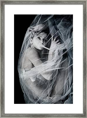 Newborn Nightmare Framed Print by Cambion Art