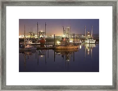 Newport Boats Framed Print by Jon Glaser