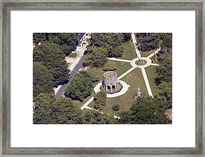 Newport Tower Rhode Island Framed Print by Duncan Pearson