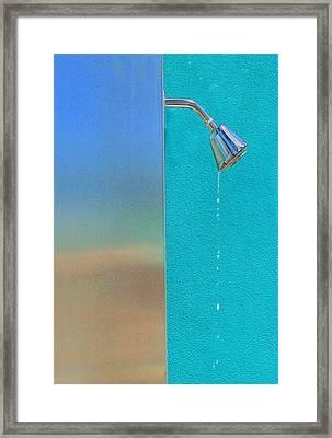 Newtons Law Framed Print by Paul Wear