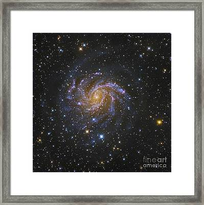 Ngc 6946, Also Known As The Fireworks Framed Print by Robert Gendler