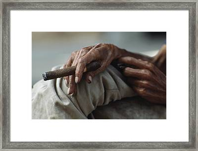 Ngs Photographer James L. Stanfield Framed Print by James L. Stanfield