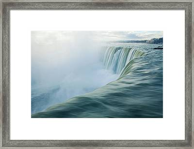 Niagara Falls Framed Print by Photography by Yu Shu
