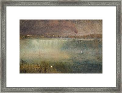 Niagara Framed Print by George Inness
