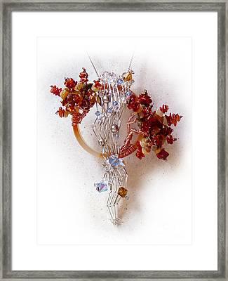 Niagra Fall Framed Print by Rhonda Chase