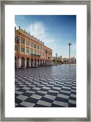 Nice Place Massena Framed Print by Melanie Viola