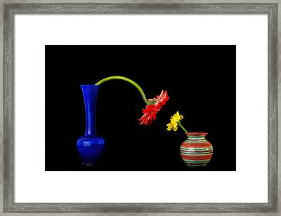 Nice To Meet You Framed Print by Mike Gal