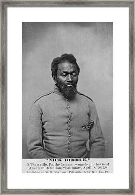 Nicholas Biddle, An African American Framed Print by Everett