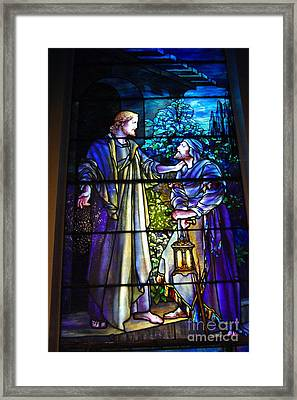 Nicodemus Came To Him At Night Framed Print by Pg Reproductions