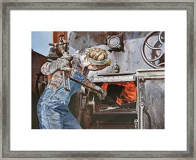 Nicole Framed Print by Lee Alban