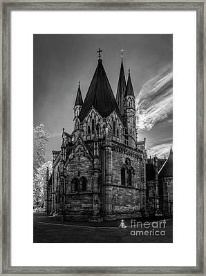 Nidaros Cathedral Framed Print by Erik Brede