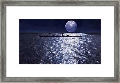 Night Crew Framed Print by Laura Fasulo
