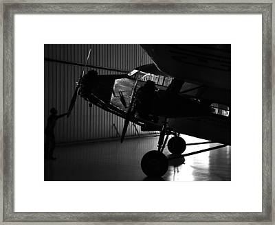 Night At The Museum Framed Print by Brent Taylor