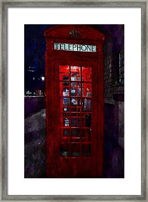 Night Call Framed Print by Dorothy Berry-Lound