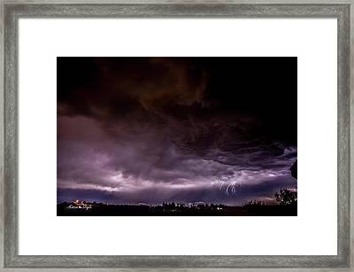 Night Crawler Framed Print by Karen Slagle