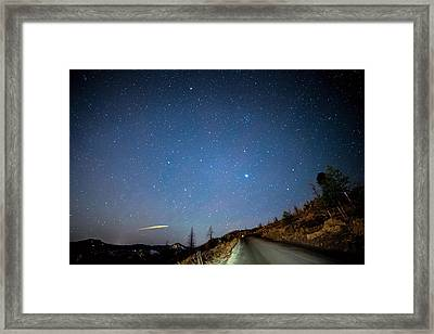 Night Drive Framed Print by James BO Insogna