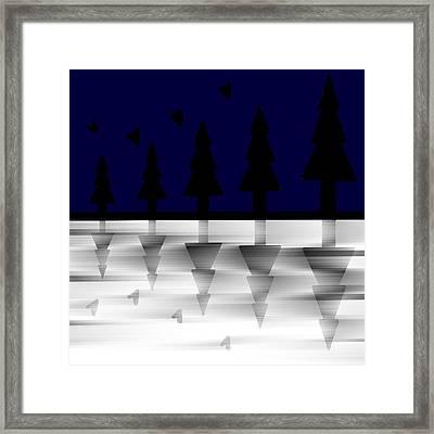 Night Effect Framed Print by Pratyasha Nithin