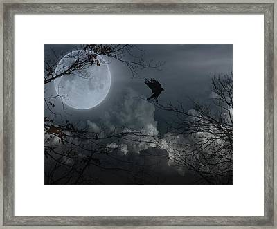 Night Fantasy Framed Print by Gothicolors Donna