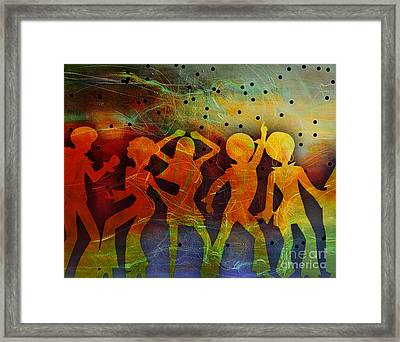 Night Fever Framed Print by Tammera Malicki-Wong