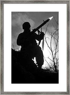 Night Fighter Framed Print by Mark H Roberts