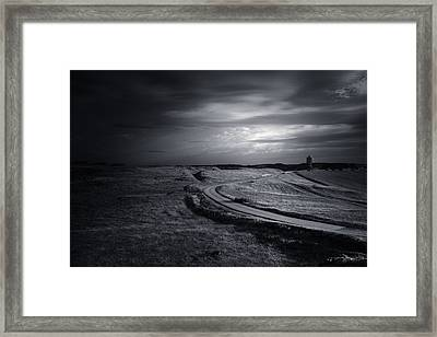 Night In The Country Park Framed Print by Chris Fletcher