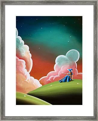 Night Lights Framed Print by Cindy Thornton