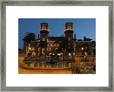 Night Of Lights Beauty Framed Print by D Hackett