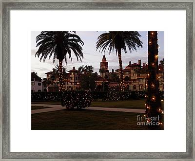 Night Of Lights Framed Print by D Hackett