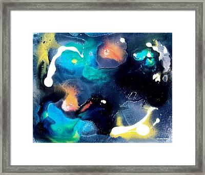 Night Of The Angels Framed Print by Lee Pantas