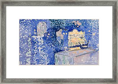 Night Of The Festival Of The Redeemer Framed Print by Celestial Images