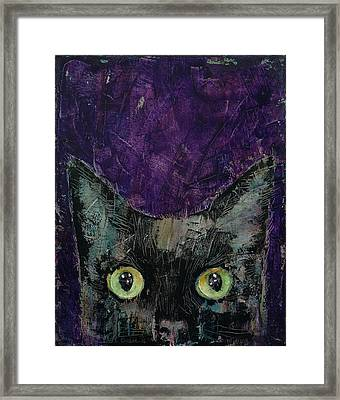 Night Prowler Framed Print by Michael Creese