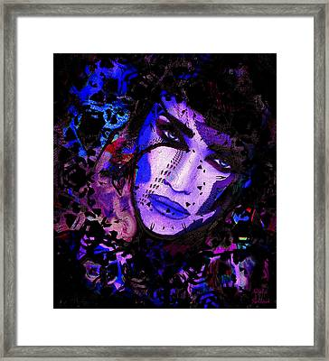 Night Queen Framed Print by Natalie Holland